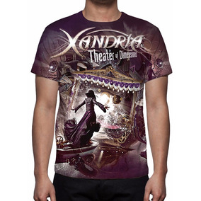 Camiseta Banda Xandria - Theater Of Dimensions Frete Grátis