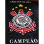 Manta Time Corinthians Microfibra Casal Solteiro