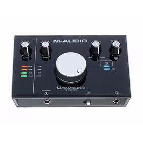 M-audio M-track 2x2 Interface Usb 24 Bits Estudio Winners