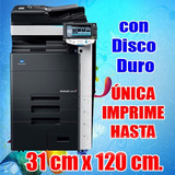 Konica C452 A Color ¡¡super Oferta!! Hasta 31 Cm. X 120 Cm.