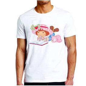 Camiseta Roupas Masculina Moranguinho Lendo