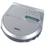 Discman Walkman Reproductor Cd Mp3 Sanyo Nuevo + Accesorios
