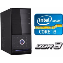 Pc Computadora Escritorio Oficina Intel I3 4gb Ram 320gb Hdd