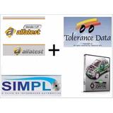Superpack Tolerance + Haynes Pro + Simplo + Alfatest