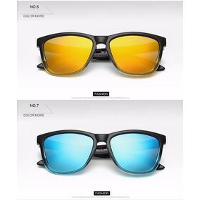 Óculos Masculino Feminino Lentes 100% Polarizadas Quadrado