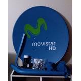 Antena Parabolica Movistar Satelital Hd Completa Nuevo
