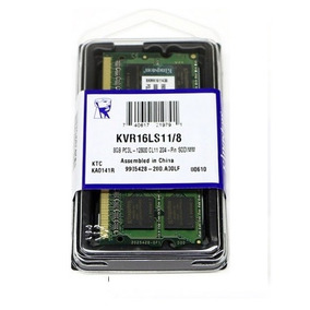 Mem 8gb 1600 Mhz Kingston Ddr3 Low Voltage 1.35v Mac E Note