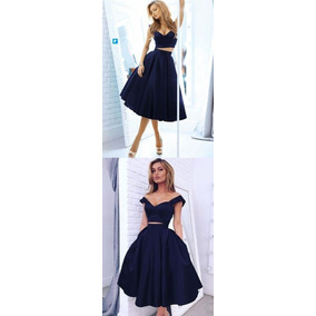 Vestido 15 A Os Top Y Pollera - Vestidos Celeste en Mercado Libre ... 884d1b0b9880