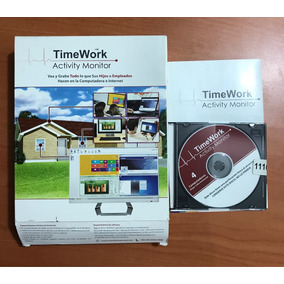 Timework Activity Monitor - Programa Espia De Usuarios De Pc