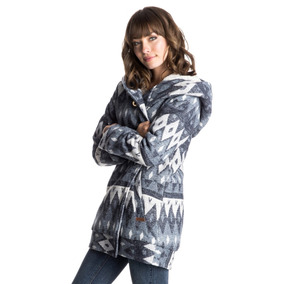 Roxy Cazadora Abrigada Con Forro Sherpa De Mujer