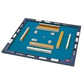 Juego De 1923 De Mahjong Caoba Y Fichas De Hueso Y Bambu En Mercado