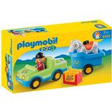 Playmobil 6958 1,2,3 Trailer Y Caballo 5 Piezas Nene (83066)