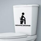 Downloading Adesivo Divertido Para Banheiro Vaso Sanitário
