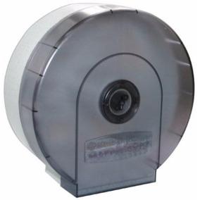 Despachador Papel Higienico Jumbo Kimberly Humo 27x27x12cm