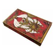 The Clow Sakura Card Captor 52 Cartas C/caja Libro Gastovic