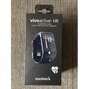 Relógio Garmin Vivoactive Hr Pulseira Gps- Lacrado- Promoção