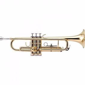 Trompete Bb Htr-300l Laqueado Com Estojo Harmonics