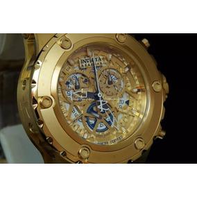 Relógio Fal11801 Invicta 12909 Dourado Frete Grátis