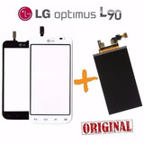 Tela Touch + Display Lcd Lg Optimus L90 D410 D410hn + Fita