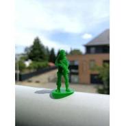 Soldados Mascara De Gás Soldadinhos Miniaturas - 10 Unds