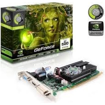 Vga Pci E 1gb Ddr3 Point Of View Geforce Gt520 Dvi/hdmi