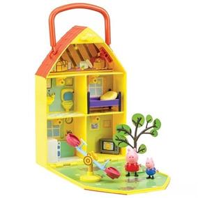 Casa Jardim Peppa E George Pig - Dtc Ri-happy