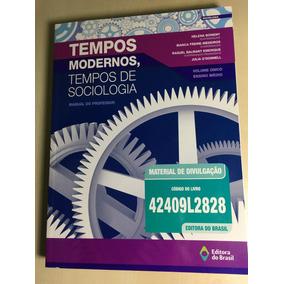 Livro Profº - Tempos Modernos - Tempos De Sociologia - Novo