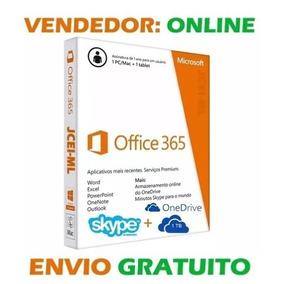 Office 365 Pro + 5tb Onedrive - Vitalicio (2018)