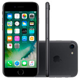 Iphone 7 32gb Preto Matte Apple - 4g, Tela 4.7