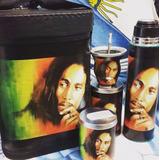 Set Matero Completo Bob Marley Termo Mate