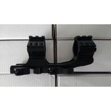 Suporte Luneta Engate Rápido Para 3-9x50 Trilho 20mm
