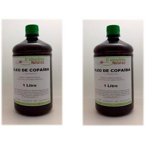 2 Litros De Óleo Copaíba- Frete Grátis -100% Puro E Natural