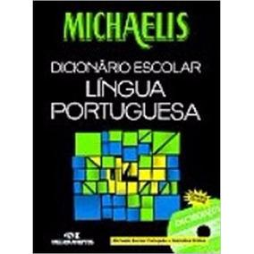 Michaelis Dic. Escolar Lingua Portuguesa Com Cd-rom
