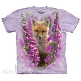 Remera The Mountain Fox Foxgloves - A Pedido_exkarg