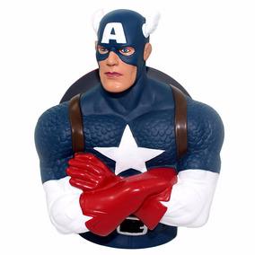 Cofre Busto Capitão America Marvel