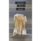 Corpo Para Bebê Reborn Braços Inteiros,pernas 3/4 Articulado