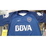 Camiseta Boca Juniors Suplente 2017 Talles Niños Y Adultos