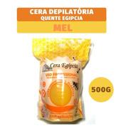 Cera Quente Depilatória Egipcia Elástica Anestésica Mel 500g