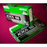 Caja De Rollos Neopan Acros 100 Formato Medio 120