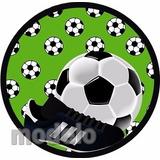 Kit Fest Infantil Personalizados 195 Adesivos Futebol Bola 8