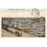 Postal Barnes Hospital St Louis Mo 1925 Timbre Washington 2c