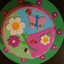Torta Decorada Flores Primavera X Kg
