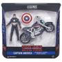 Capitán América Civil War Legends Series C/moto Orig Hasbro
