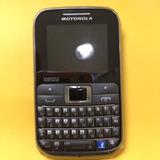 Flip Carcaça + Display Motorola Tri-chip Ex117 Sem Tampa