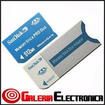 Memoria Sandisk Pro Duo De 512mb Magicgate