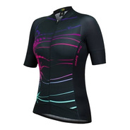 Camisa Blusa Ciclismo Feminina Bike Free Force Boho