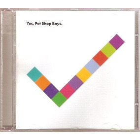 Cd Pet Shop Boys - Yes - Novo***
