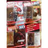 Figuras Marvel 3d Spiderman, Wolverin, Otros. $550