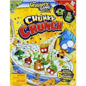 The Grossery Gang Chunky Crunch 16 Figuras Original