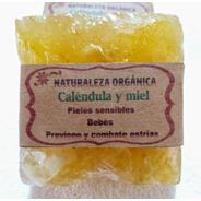 Jabon Piel Sensible-bebes-p/estrias De Calendula Y Miel X2